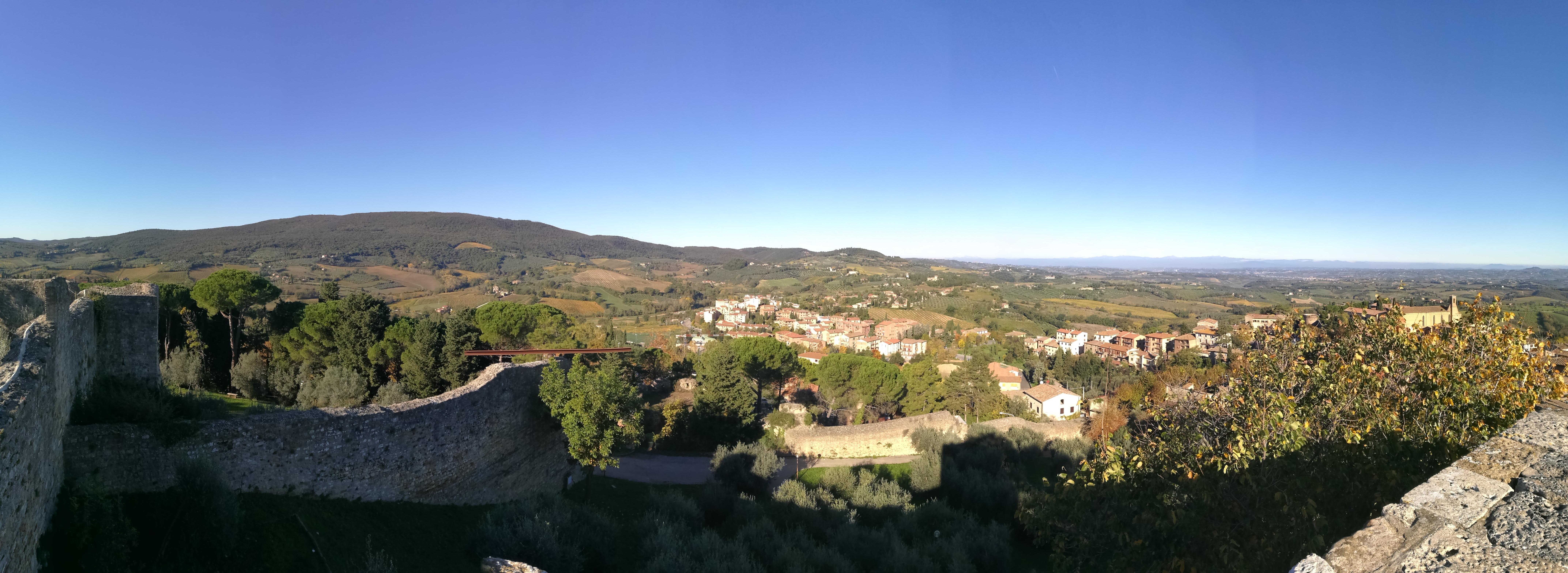 Vista dalla Rocca di Montestaffoli