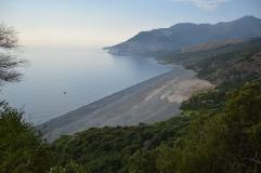 Nonza-la spiaggia nera